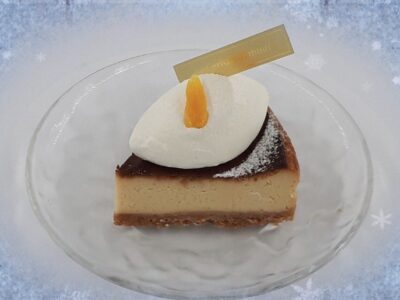 Summer限定  酒粕のチーズケーキ【杏とヨーグルト】